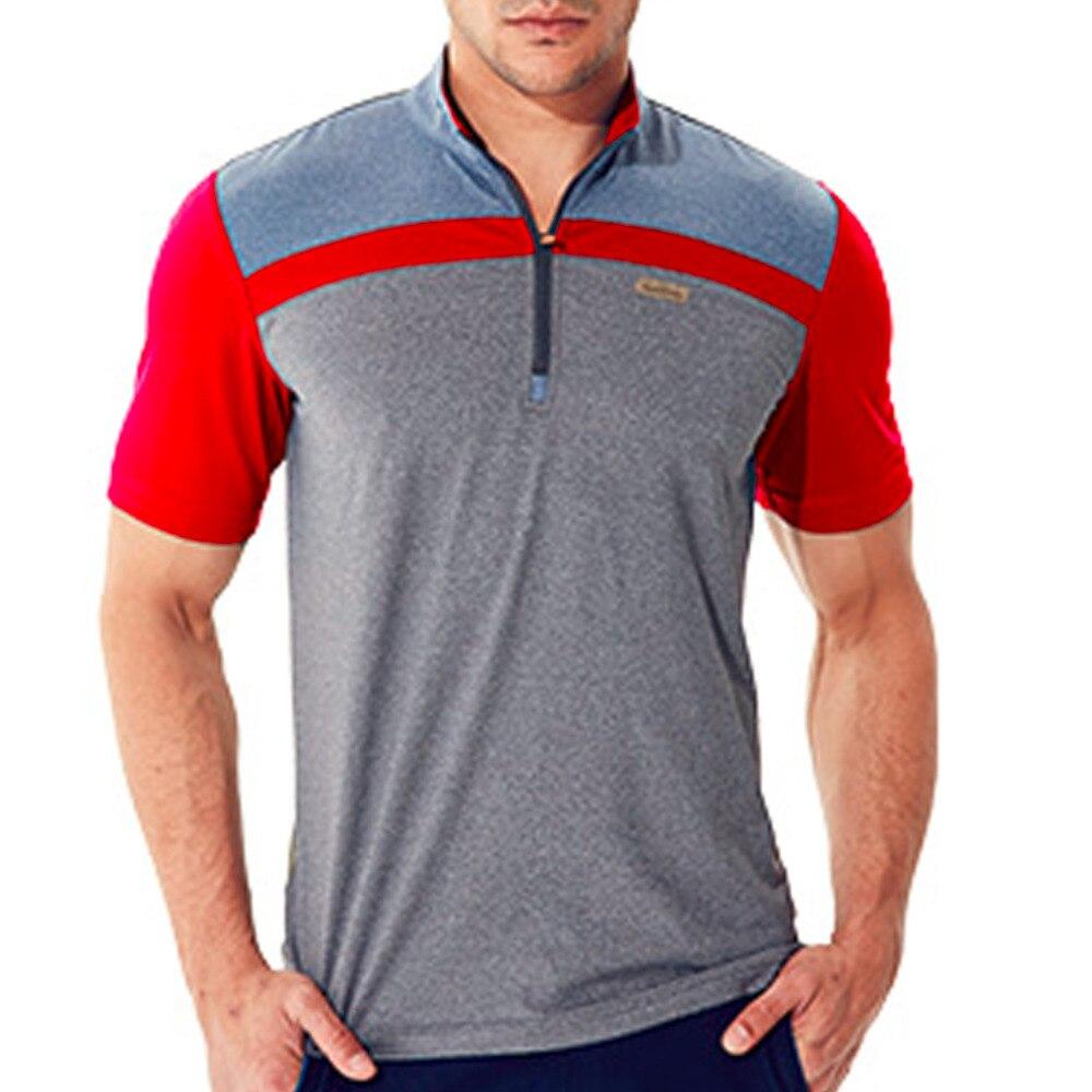 Outdoors Sports Hunting Fishing Men t-shirt quick dry browning Male T-shirt Mens Short Sleeve Anti-sweat POLO Slim T Shirt