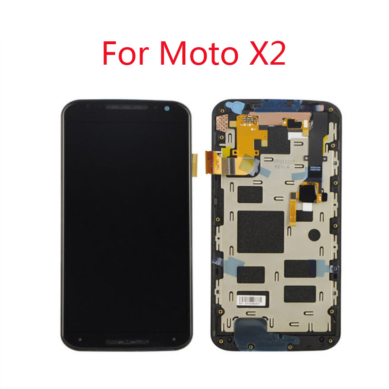 100 New Original LCD For Moto X2 Xt1092 Xt1095 Xt1097 LCD Display TP Touch Screen Digitizer