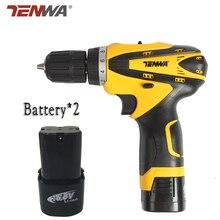 Tenwa 16.8 V MINI taladro Inalámbrico Batería de Litio de Doble Velocidad * 2 recargable destornillador eléctrico inalámbrico herramienta eléctrica