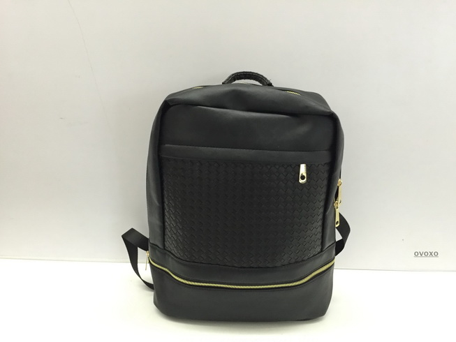ФОТО High Quality black leather backpack school bag teenagers printed designer travel bags free shipping