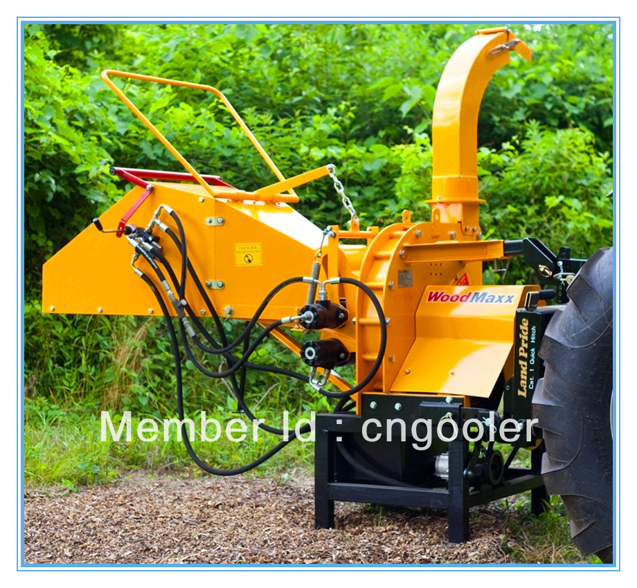 PTO driven wood chipper shredder TH 8, CE certifricate