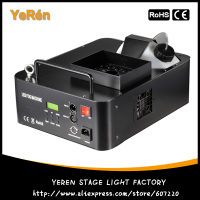 1500W Led Fog Machine Led Fogger Smoke Machine Stage Haze Machine DMX Remote Contol