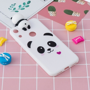 For Coque Huawei Honor 8A Case Silicon 3D Cartoon Panda Unicorn Back Cover For Huawei Honor 8A 8 A JAT-LX1 Honor8a Fundas Etui(China)