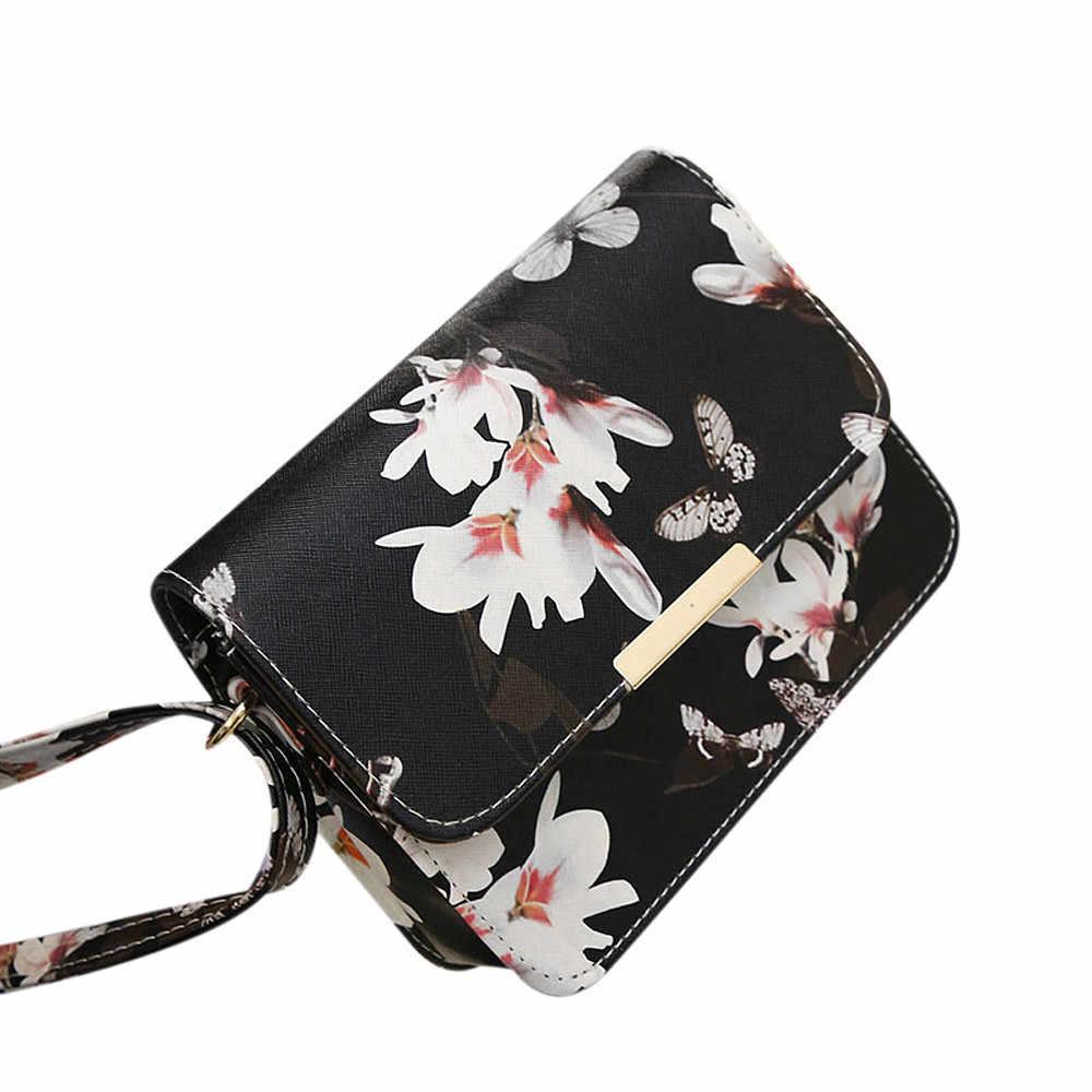 Bolsa de ombro de couro floral bolsa de ombro bolsa retro mensageiro saco famoso designer de embreagem sacos de ombro bolsa preto branco