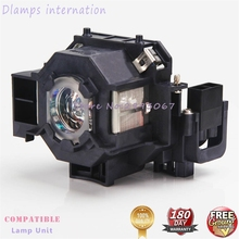 EP41 Replacement Lamp with housing for Epson EBS5/S6/77C/78,EMP 260,H283A,HC700,H284B,EH TW420,EX21, EX30, EX50, EX70,EB X62