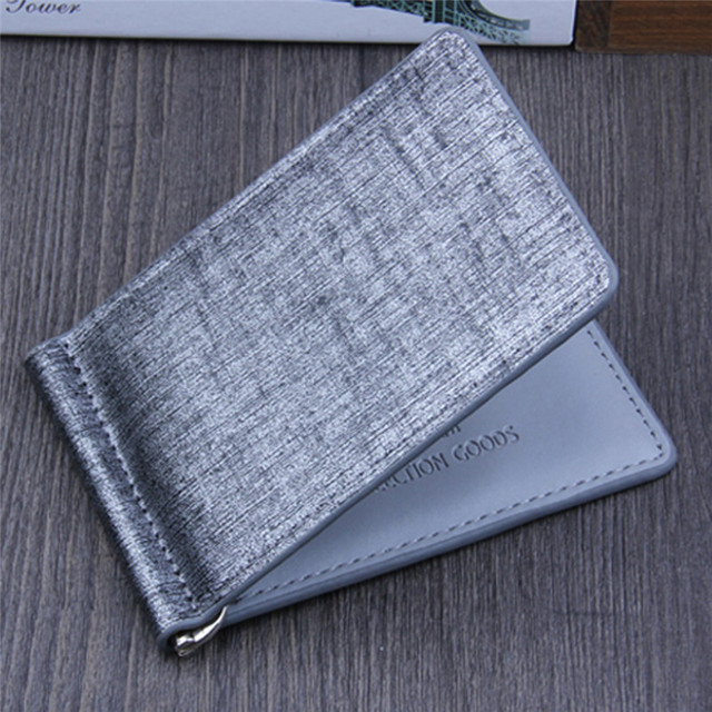 Men's Wallet Men Coin Purse Leather Handbags Male Bags Bifold Clutch Credit ID Visiting Cards Holder Business Carteira Gift 2017