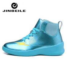 Bright Red Blue Green Basketball Shoes Outdoor Men Sport Sneakers Man Breathable PU Shoes For Men Ankle Boot Basket Homme Shoes недорого