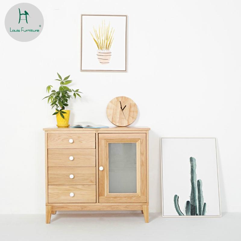 Environmentally Friendly Kitchen Cabinets: Louis Fashion Japanese Nordic Modern Minimalist