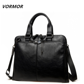 Men bag Casual men's briefcase shoulder Bags Laptop crossbody messenger bag men leather men's travel bags