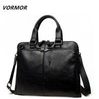 Men Bag Casual Men S Briefcase Shoulder Bags Laptop Crossbody Messenger Bag Men Leather Men S