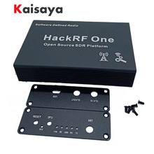 Black Aluminum Enclosure Cover Case Shell Chassis For HackRF One