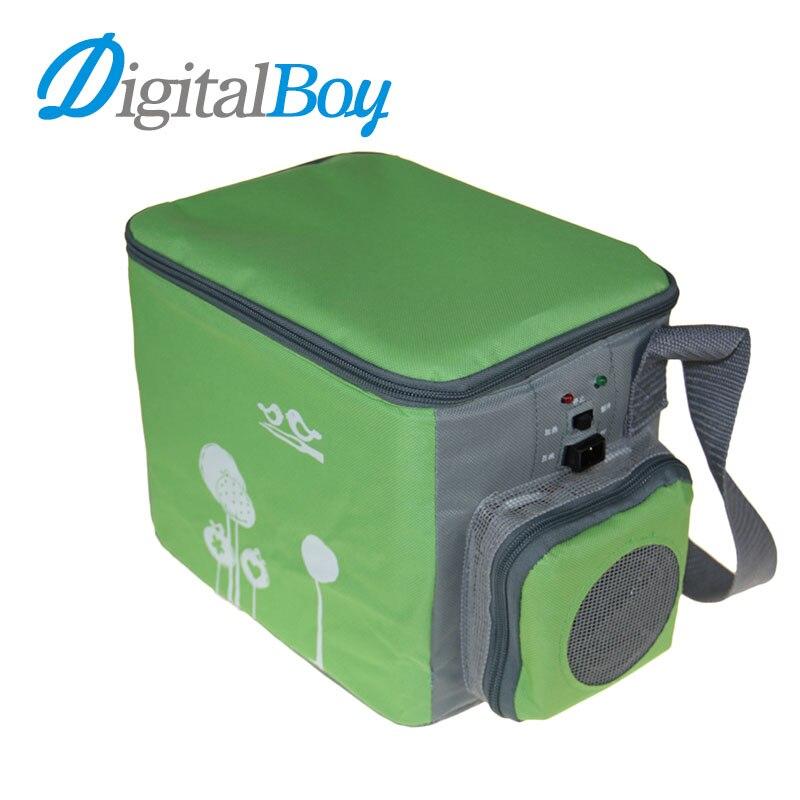 Mini car fridge 4l12v auto car travel refrigerator cooler for 4 box auto