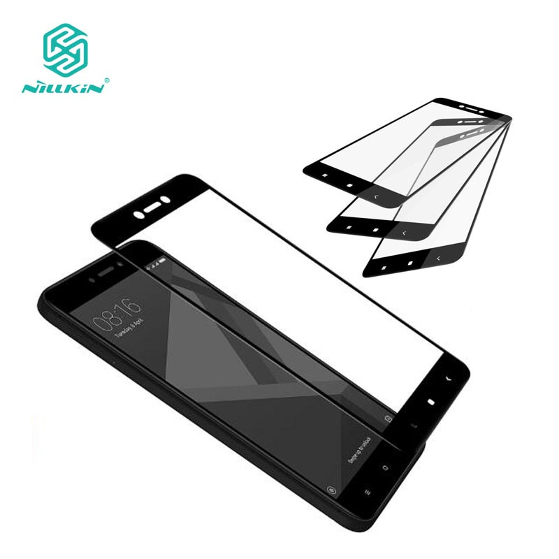 Xiaomi Redmi 4X Tempered Glass Xiaomi Redmi 4X Glass Nillkin CP+ 2.5D Full Cover Screen Protector For Xiaomi Redmi 4X 5.0 inch