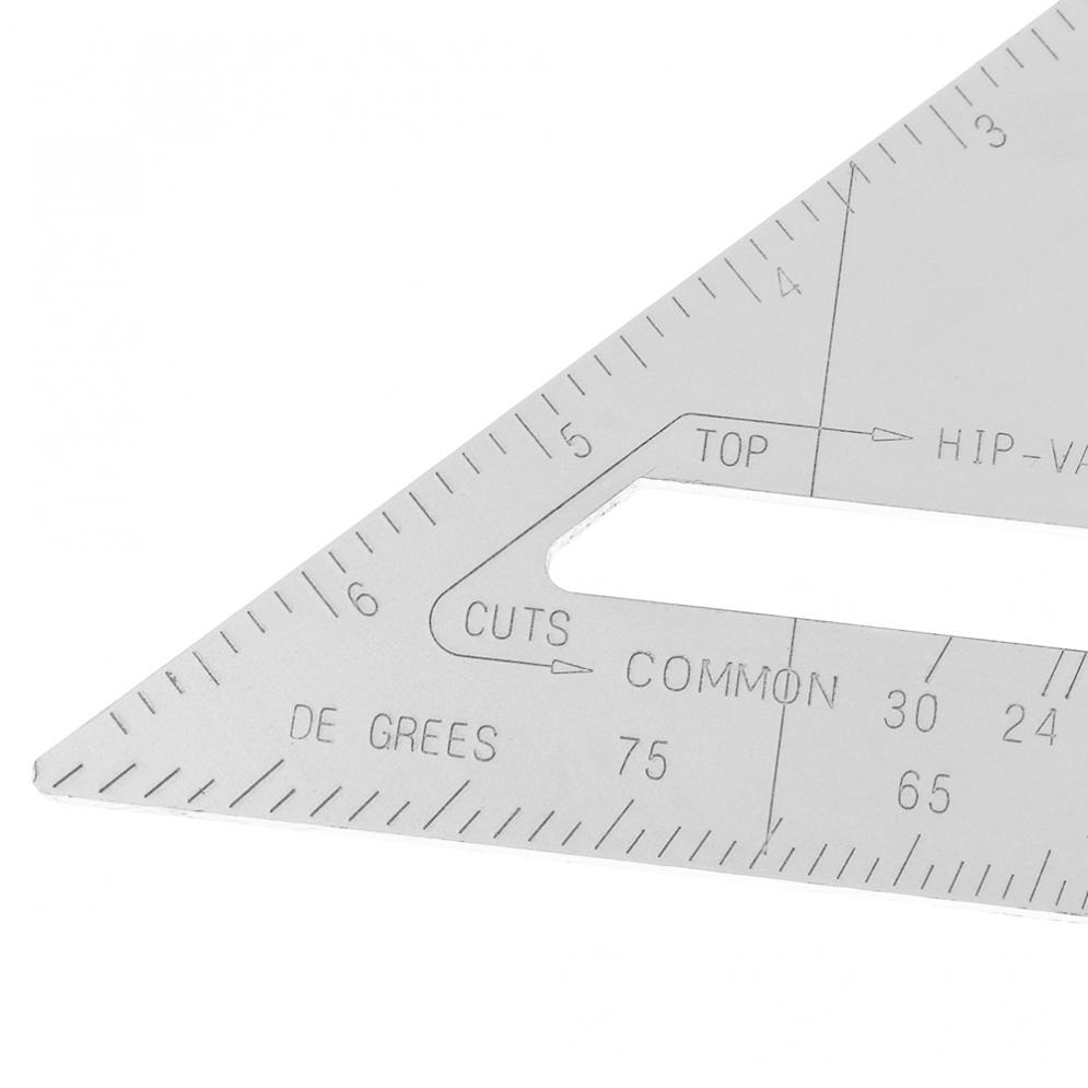 Novo 7 Polegada liga de alumínio triângulo