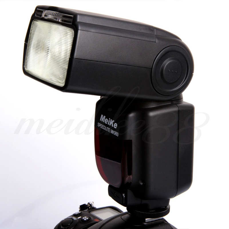 High Quality Meike MK-950 Flash Light Wireless Flashgun for Canon EOS DSLR Camera E-TTL LCD Speedlite meike mk d750 battery grip pack for nikon d750 dslr camera replacement mb d16 as en el15 battery