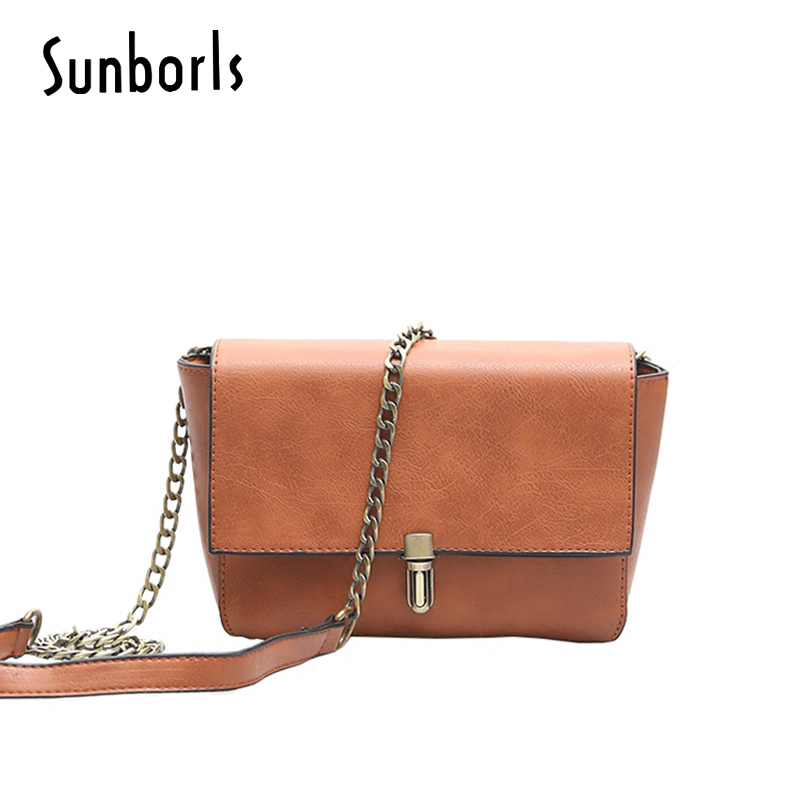 Retro Leather Women Messenger Bags Small Female Shoulder Bags Luxury Top Handle Bag Leisure Mini Leather