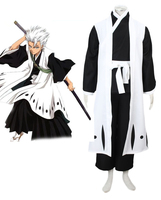 Can be tailored Anime BLEACH Cosplay Man Woman Halloween Cos Hitsugaya Toushirou Cosplay Costume Japanese kimono S 3XL