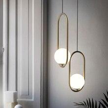 Nordic Led Pendant Lights Lighting Luminaire Industriel Hanging Lamp Lustre Suspension Ball Glass Pendant Lamps Kitchen Fixtures недорого