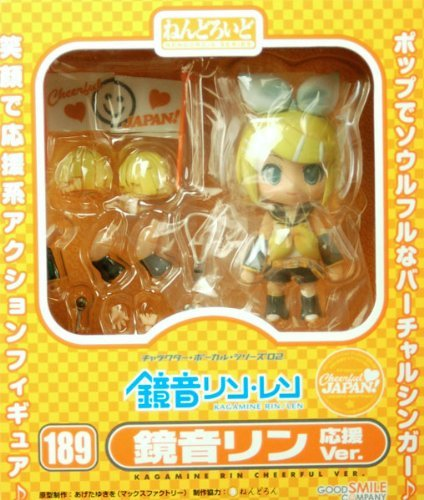 Good Smile Vocaloid: Kagamine Rin Nendoroid Action Figure Cheerful Ver with box