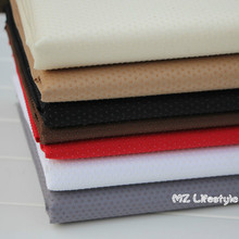 Buulqo 100*145cm width polyester anti Slip  rubber Non Skid  fabric by meter plain color  vinyl non slip fabric