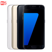 Unlocked Samsung Galaxy S7 edge G935F/G935V mobile phone 4GB RAM 32G ROM Quad Core NFC WIFI GPS 5.5'' 12MP LTE fingerprint