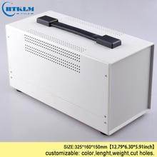 Wire connectors iron enclosure diy instrument case electronic housing p