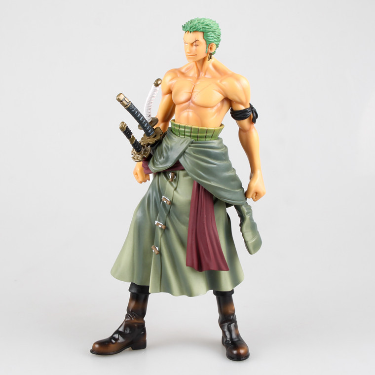 One Piece Toys Zoro Figures 25cm Movie Figures Anime Hot Toys Japanese Toys Christmas Gifts Collection