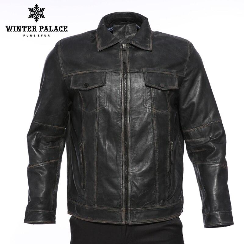 Rétro hommes col de locomotive veste en cuir hommes étudiant mode veste en cuir style de rue manteau vêtements pour hommes jeune tendance