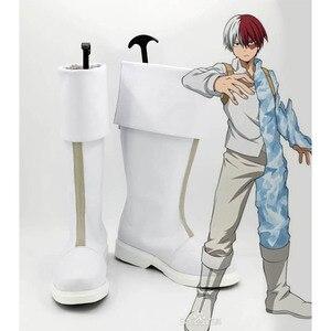 Image 3 - Coshome boku no Hero Academia Midoriya wszystko może shoto todoroki Bakugou Cosplay buty My Hero Academia buty