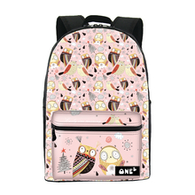 ONE2 design owl animal cartoon font b women s b font bag pink school font b