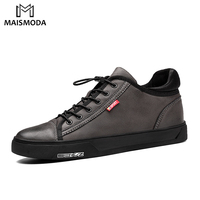 MAISMODA New Brand Casual Shoes Men Fashion High Quality Leather Spring Autumn Men S Shoes Normal