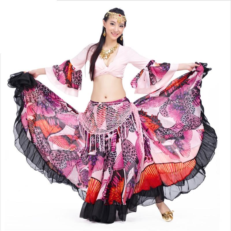 Длинная юбка цыганка