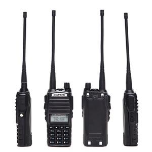 Image 2 - Baofeng UV 82 Plus Tri Power 1 W/4 W/8 W Krachtige Walkie Talkie 10Km Lange bereik Dual Ptt Dual Band Twee Manier Radio BF UV82 Uv 82