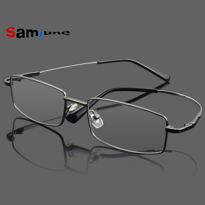 Rimless Glasses Trend : ?Samjune 4Colors Ultra-Light Rimless Rimless Clear ...