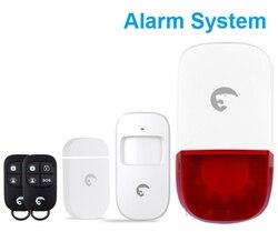 Niezależne małe na miejscu alarm system ostrzegania dla sklep alert zestaw bezpieczeństwa|system|system alarmsystem security -