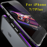 Luxury Contrast Color Original Luphie Brand For IPhone 7 Bumper Frame Case Ultra Thin Shockproof Case