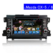 1024*600 Double Din Car DVD Player for Mazda CX-5 Android Radio Bluetooth TV GPS Navigation Touch Screen Car Stereo for Mazda 6