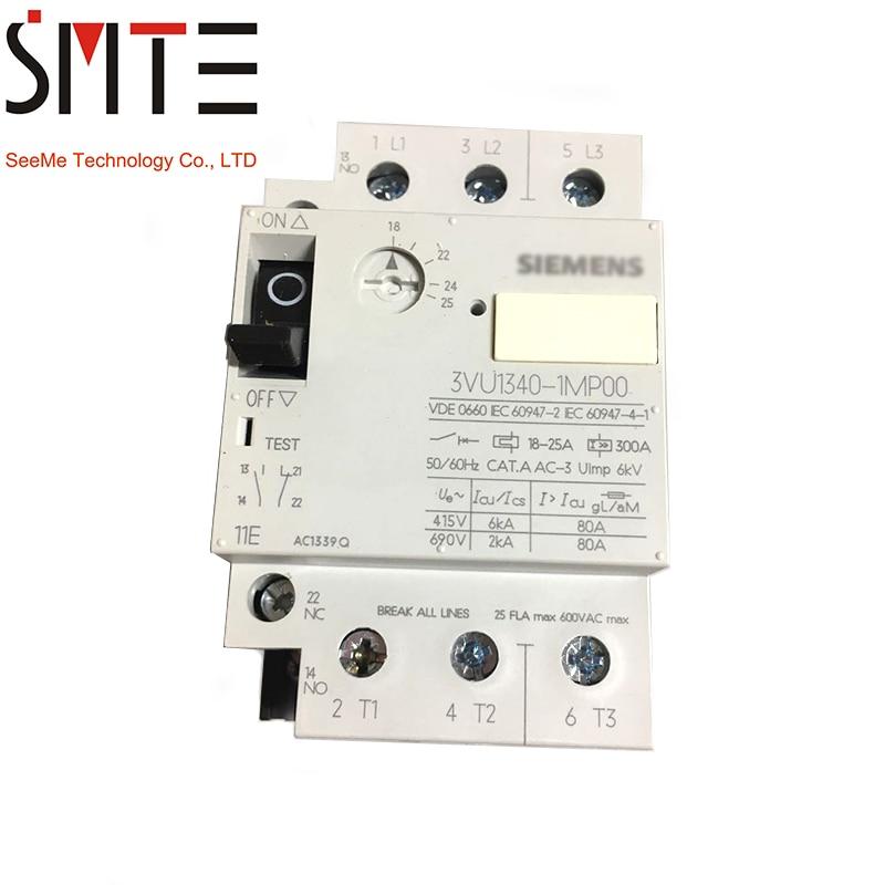 3VU1340-1MP00 for 18-25A 11E 1NO+1NC3VU1340-1MP00 for 18-25A 11E 1NO+1NC