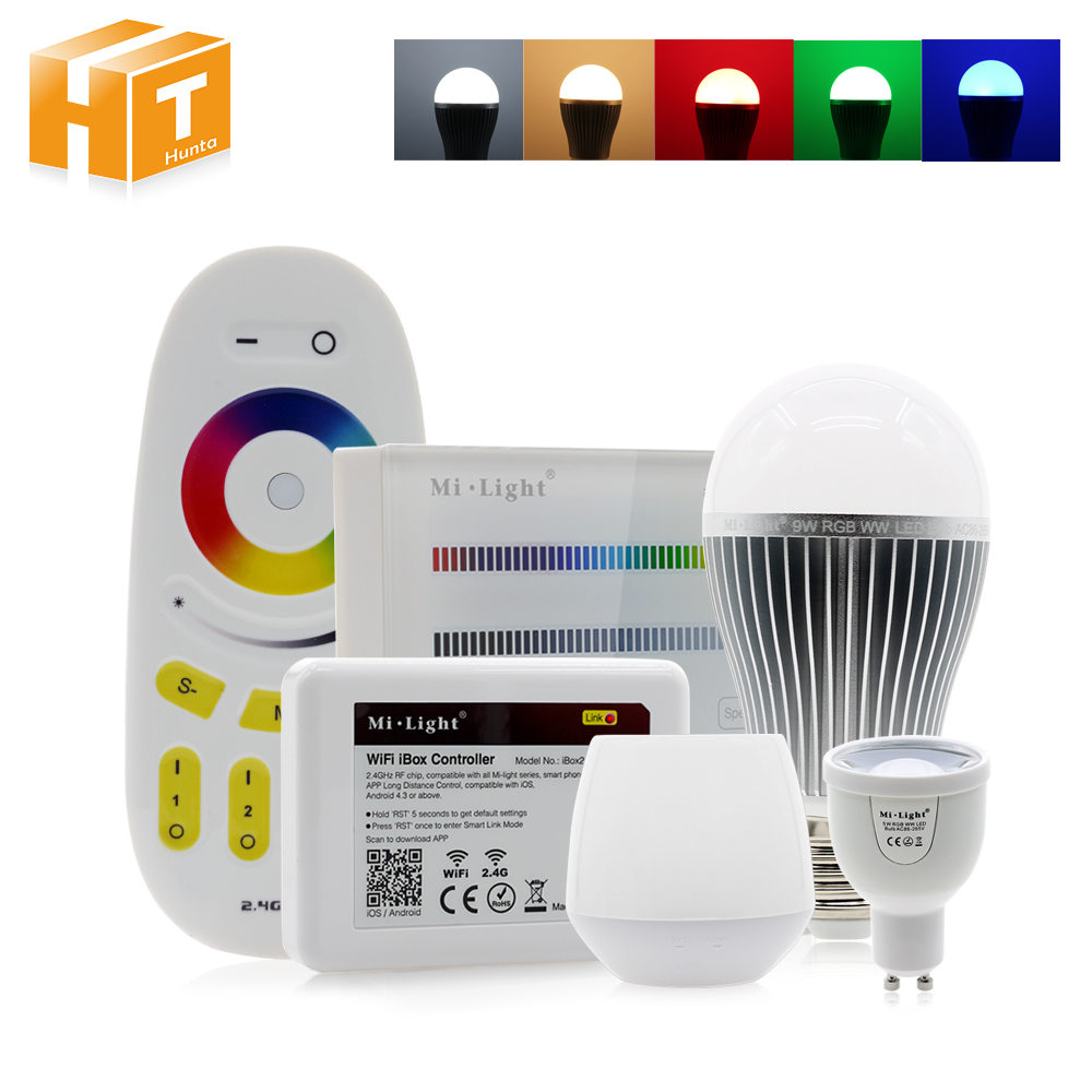все цены на RGBW LED Bulb Light AC86-265V GU10 5W / E27 6W 9W LED BULB lamp RGBWW / RGBCW Remote Control Smart Lighting led RGB bulb lights