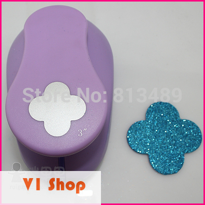 Super Large 3'' Flower Paper Punch Scrapbook DIY Craft Hole Punch EVA Cutter Embossing Device Card Making Scrapbooking Punches