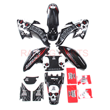 Graphic kits and Shell plastic parts and Sticker for CRF Motorcycle crf50 Dirt Pit Bike Parts