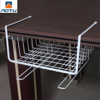 2 Colors Metal Iron Home Kitchen Storage Shelf Rack Mutifunctional Office Kitchen Bathroom Storage Shelves Organizer