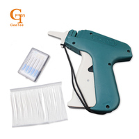 Quality Paper Hang Tag Swing Tag Guns 1 Tagging 1000 Barbs 5 Steel Needles Machine Set