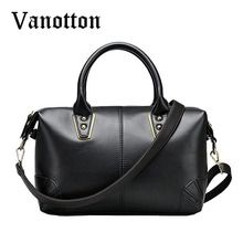 2016 Fashion Design Large Capasity Boston Bag Pu Leather Tote Bags for Women Casual Hanbag Shoulder Bag Ladies Messenger Bags