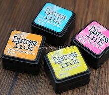 ¡DIY 2015! mini parches de tinta para manualidades, almohadilla de tinta, almohadilla de tinta para Scrapbook, decoración vintage de tinta para bodas b82