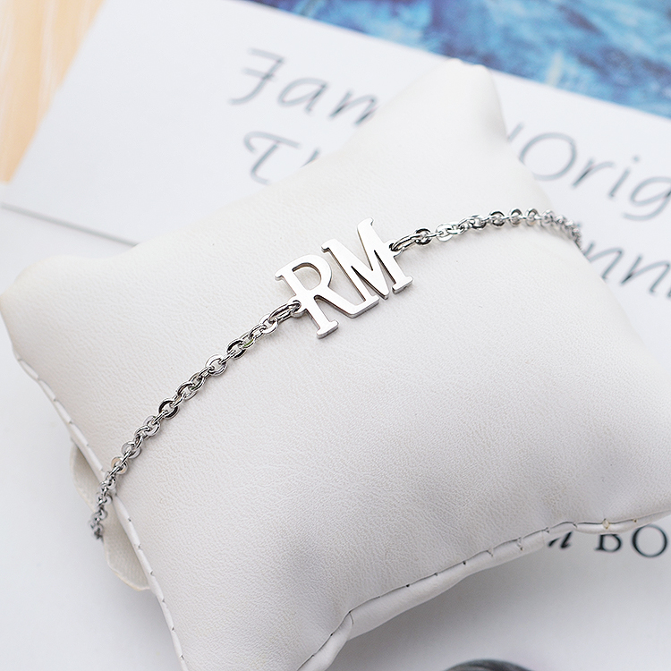 Chain & Link Bracelets Kpop Bts Bangtan Boys Army Rm Name Letter Stainless Steel Bracelet Bangle Adjustable Bracelets For Jewelry Party Gifts High Quality And Inexpensive