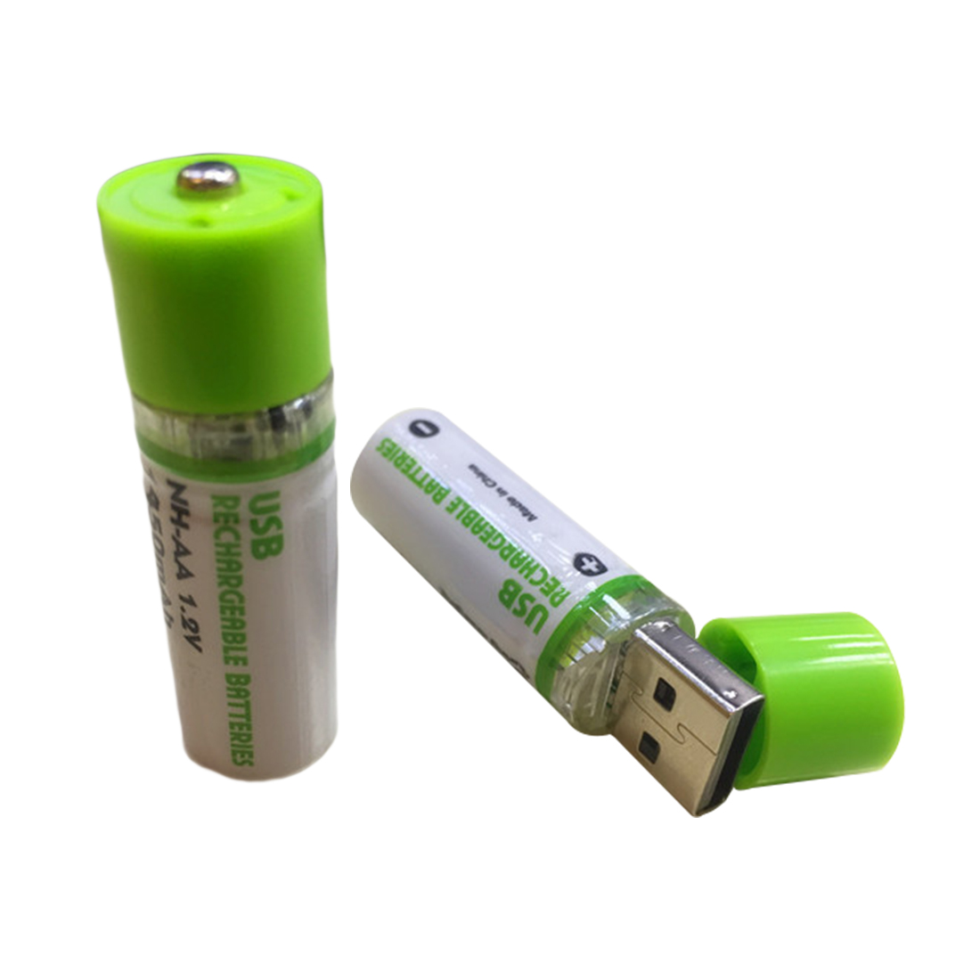 Centechia Good Sale 2Pcs AA Battery Nimh AA 1.2V 1450MAH Rechargeable Battery NI-MH USB AA 1450MAH