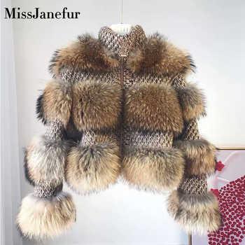 Elegant Real Fur Coat Women 2019 Autumn Winter Warm Soft Zipper Fur Jacket Female Plush Overcoat Pocket Casual Outwear - DISCOUNT ITEM  50 OFF Women\'s Clothing