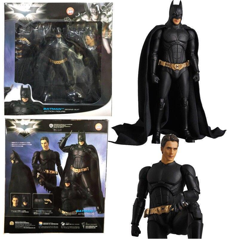 Medicom Mafex Batman Begins Suit Action Figure Batarang Stand 049 Dark Knight US