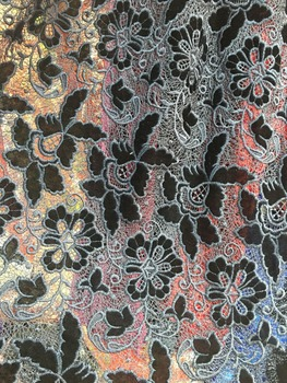 2017 african velvet lace fabric !High quality African lace fabric!Free shipping velvet and net lace cloth